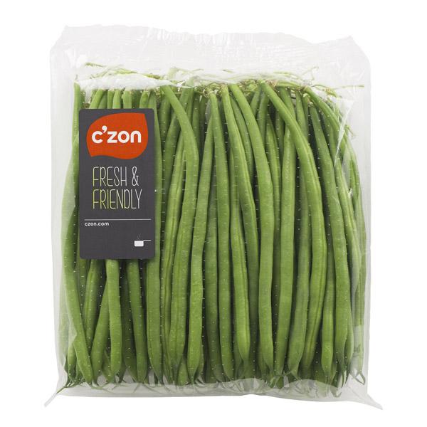 sachet haricots verts C'ZON