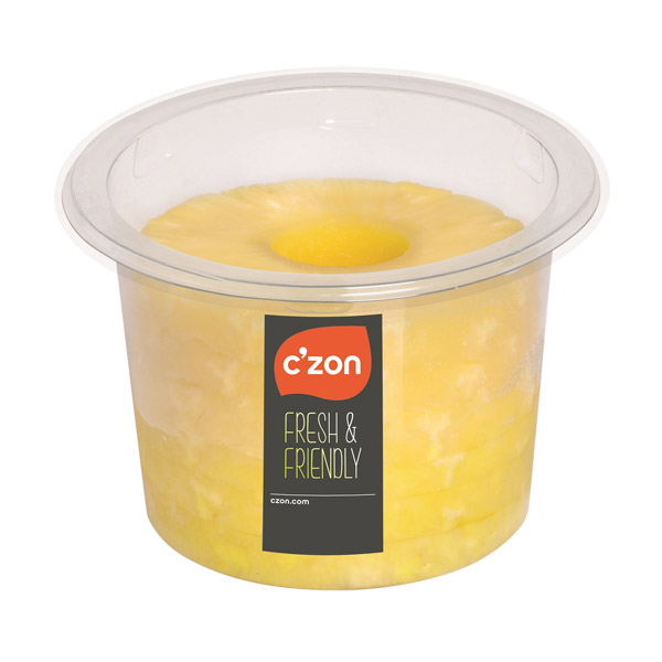 CZON cylindre ananas tranche